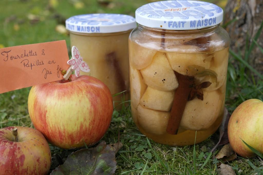 Pommes au sirop _ Fourchettes & papilles en joie.fr