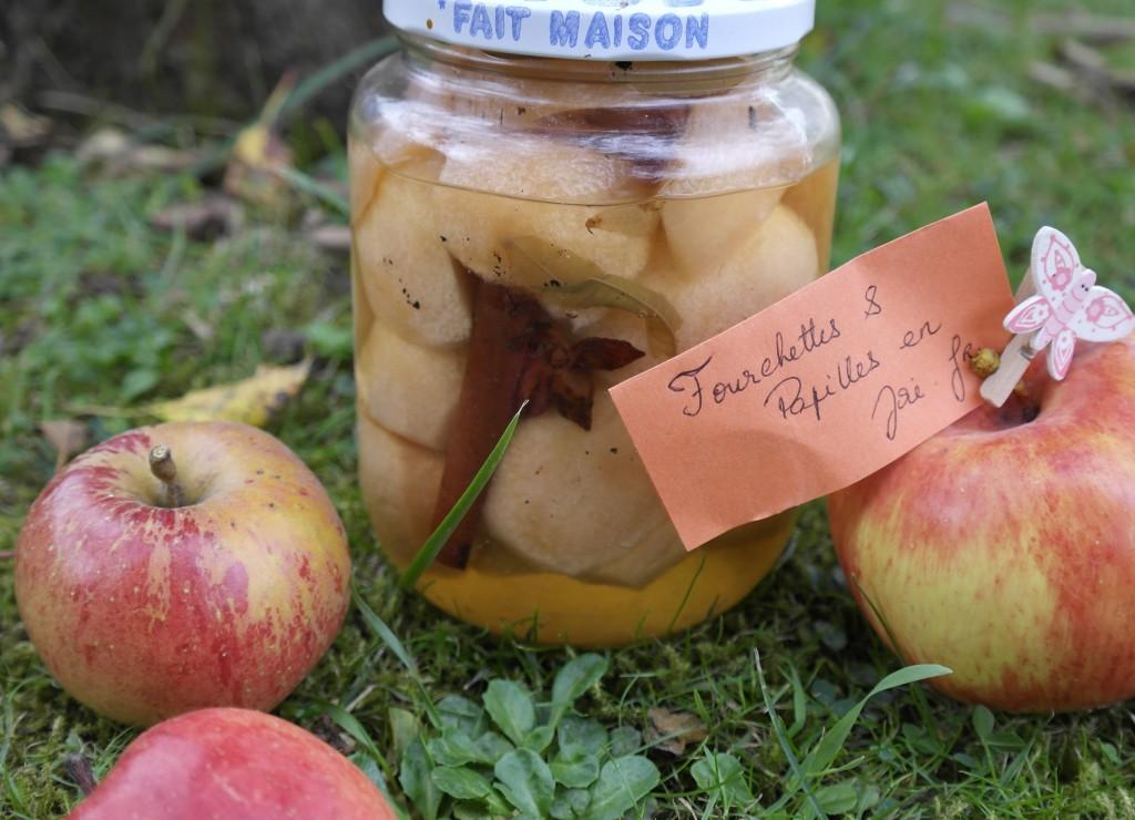Pommes au sirop Fourchettes & Papilles en joie.fr