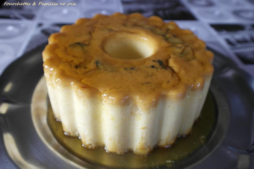 Pudding aux amandes. Recette portugaise