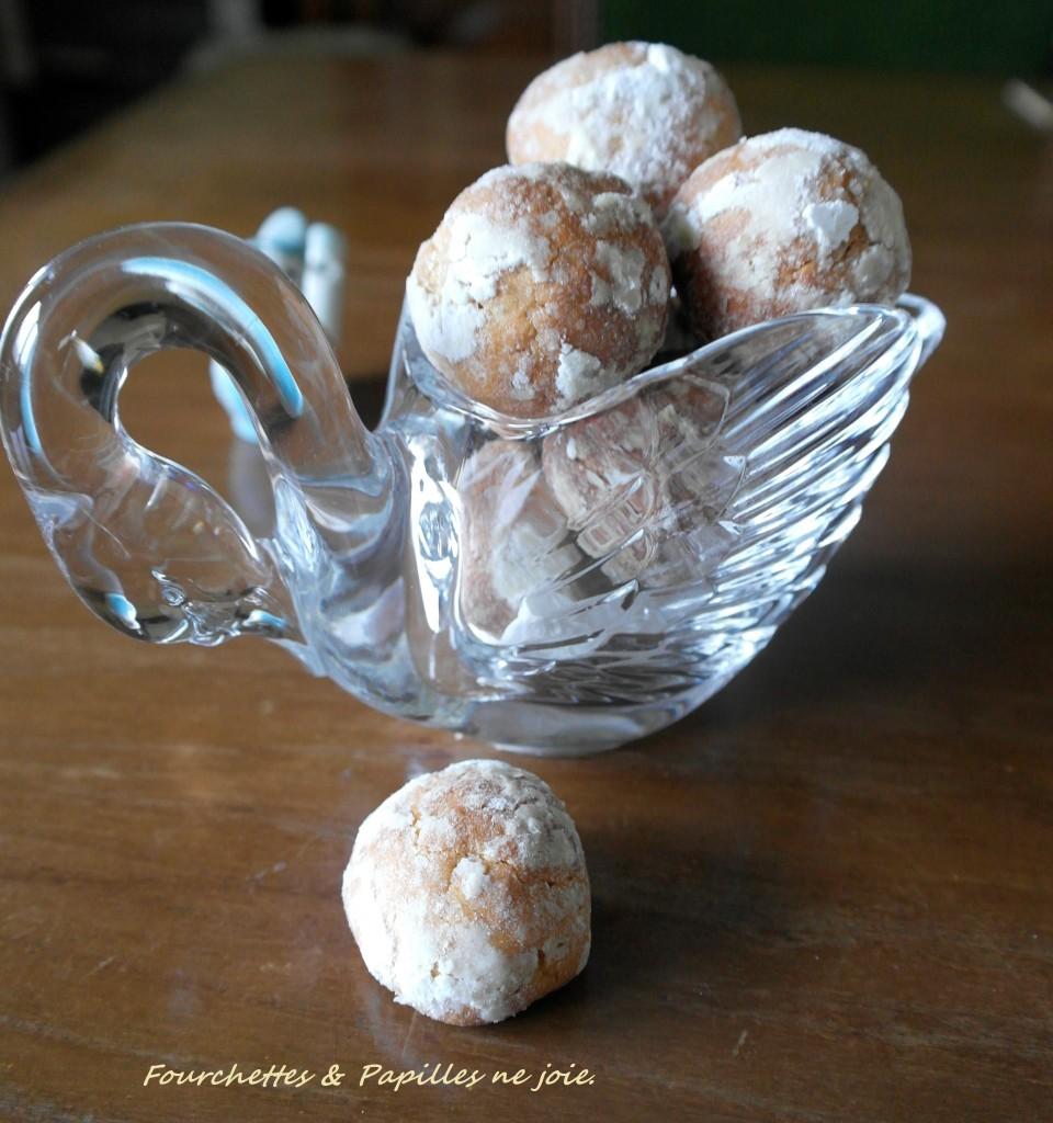 Biscuits au lait concentré et citron