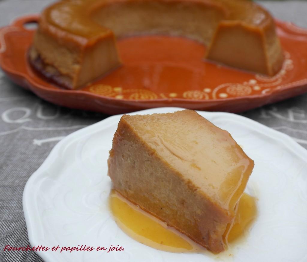 Pudding à la confiture de lait. Recette portugaise