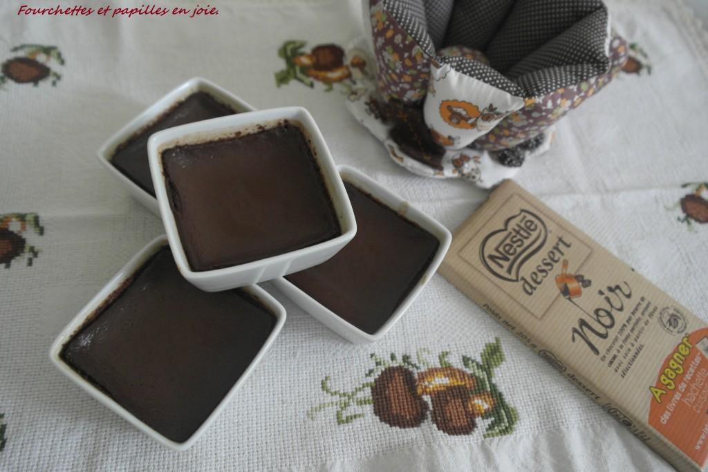 Petits pots au chocolat