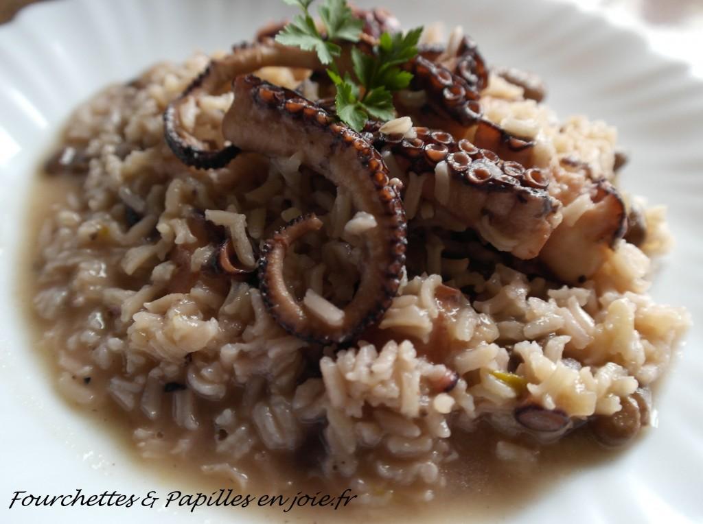 Arroz de polvo ou le riz au poulpe