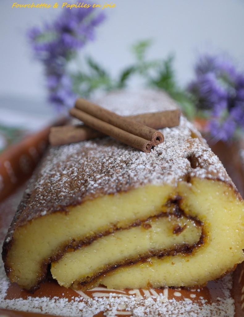 Torta de Laranja Fourchettes & Papilles en joie