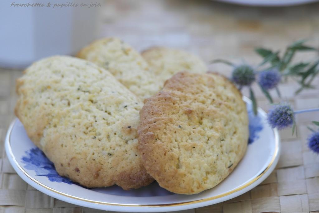 Biscuits au citron et fenouil sauvage