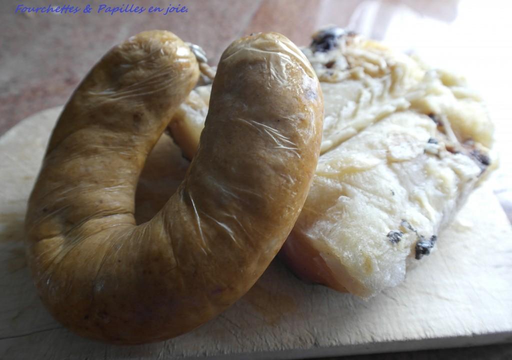 Riz à la morue & saucisse portugaise au four...Fourchettes & papilles en joie. fr